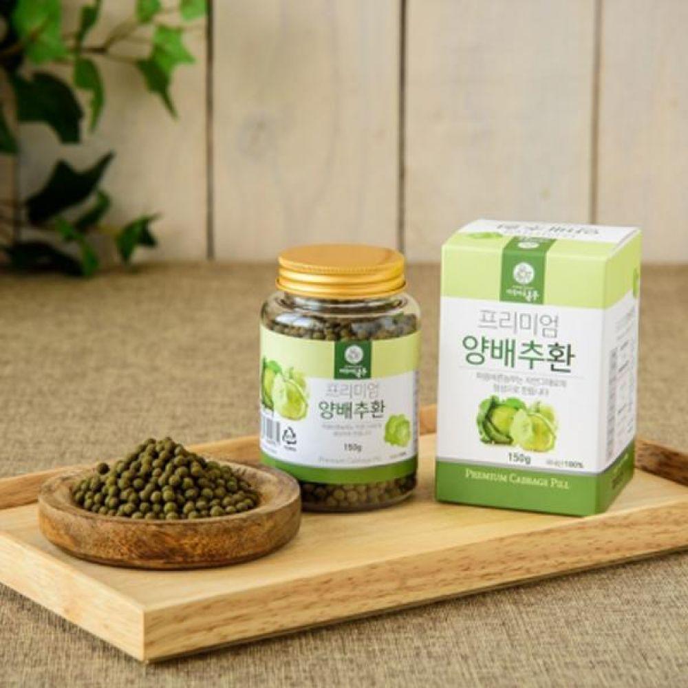 양배추 환 150.g 자연그대로의 정성으로 만듭니다. 식품 농축산물 건강식품 환 양배추