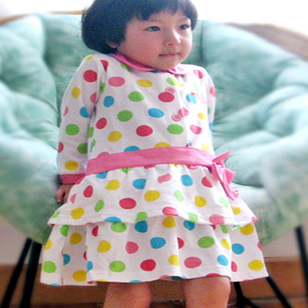 귀엽고 발랄한 원피스 (12개월-5세) 2종셋트 201142 우주복 롬퍼 아기옷 유아옷 신생아옷 돌복 유아실내복 아기실내복 외출복 엠케이