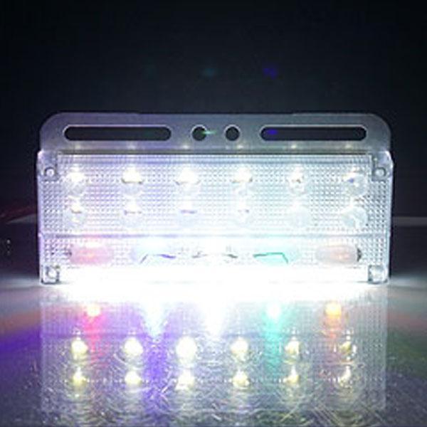 24V전용 3WAY T8 LED차폭등(화이트색상) 차폭등 사이드램프 노면등 윙바디램프 차량폭인식 차폭인식 화물차 탑차 봉고 포터 하이빔