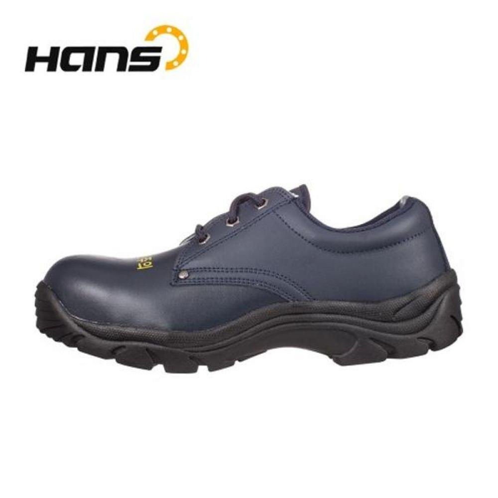 한스 HS-104 라바 정전화 4in 정전기방지 안전화 안전화 HANS 한스산업 단화 가죽안전화 정전기방지 작업화 현장화