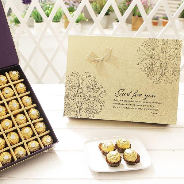 스퀘어 페레로로쉐 T48 발렌타인데이 화이트데이 화이트데이 사탕 캔디 초콜렛 츄파춥스 초콜릿 사탕선물 사탕세트 화이트데이선물