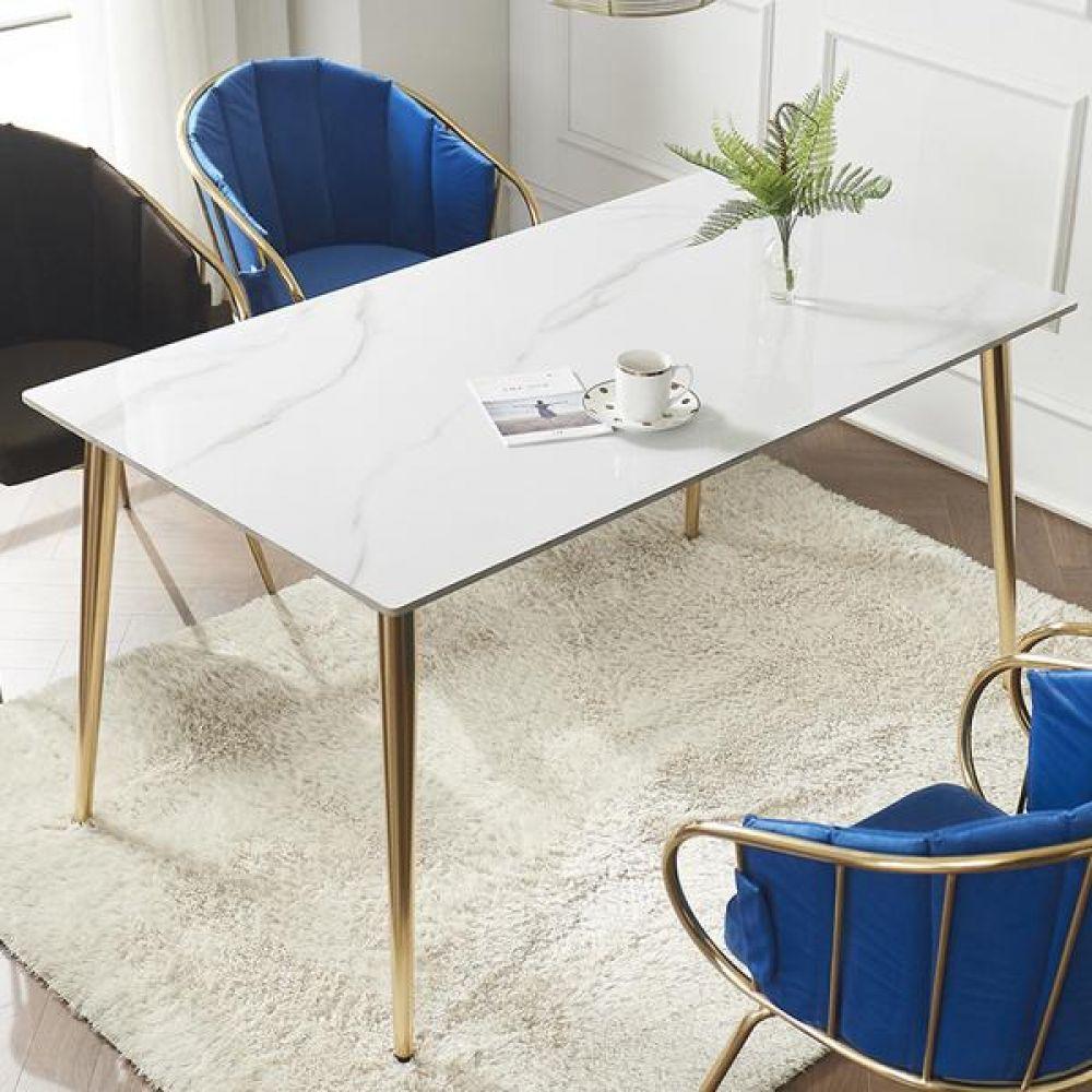 심플라인 세라믹 골드 식탁 1800 테이블 다용도상 거실테이블 티이블 미니테이블