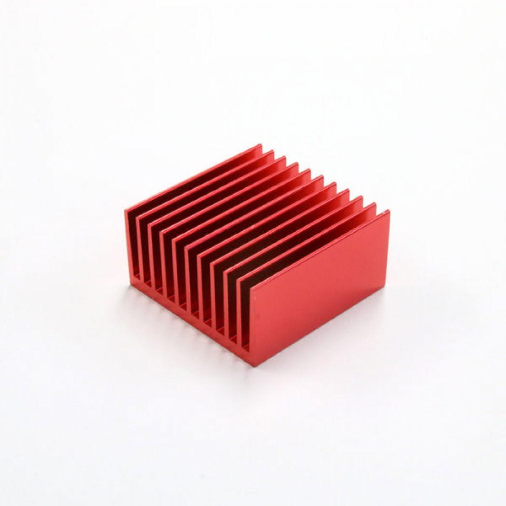 소형 칼라 알루미늄 방열판 히트싱크 404020R 4개 묶음 히트싱크 방열판 칼라방열판 다용도 칼라히트싱크 알루미늄방열판 히트싱크 쿨러
