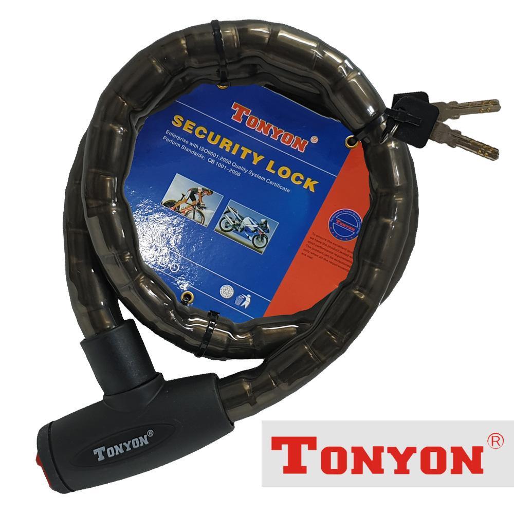 톤욘211 오토바이 자물쇠 22mm 와이어락 대 자전거락 오토바이 열쇠 줄자물쇠 자전거열쇠