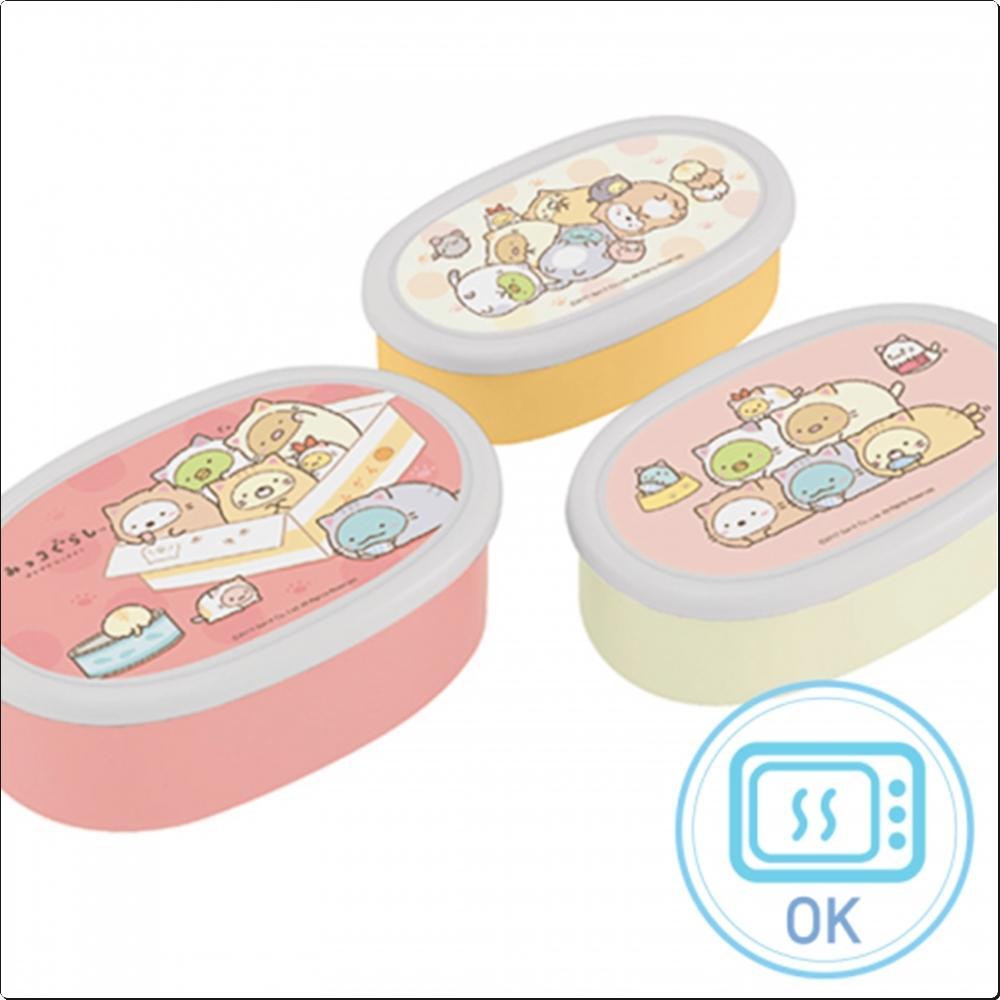 스밋코구라시18 보존용기 3종 세트(일)(401930) 캐릭터 캐릭터상품 생활잡화 잡화 유아용품