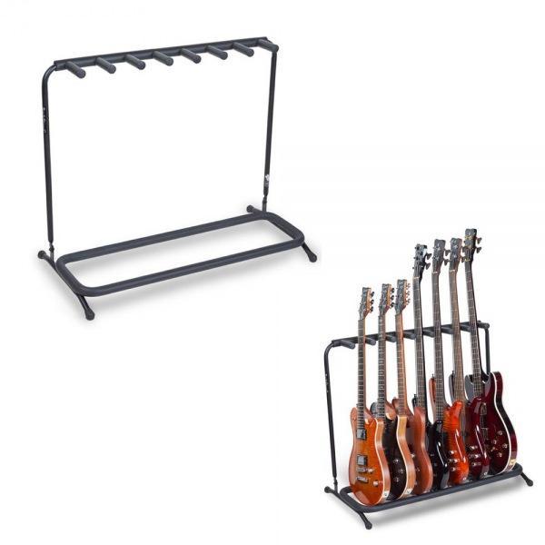 멀티 기타스탠드 7단 Electric Bass용 거치대 20862