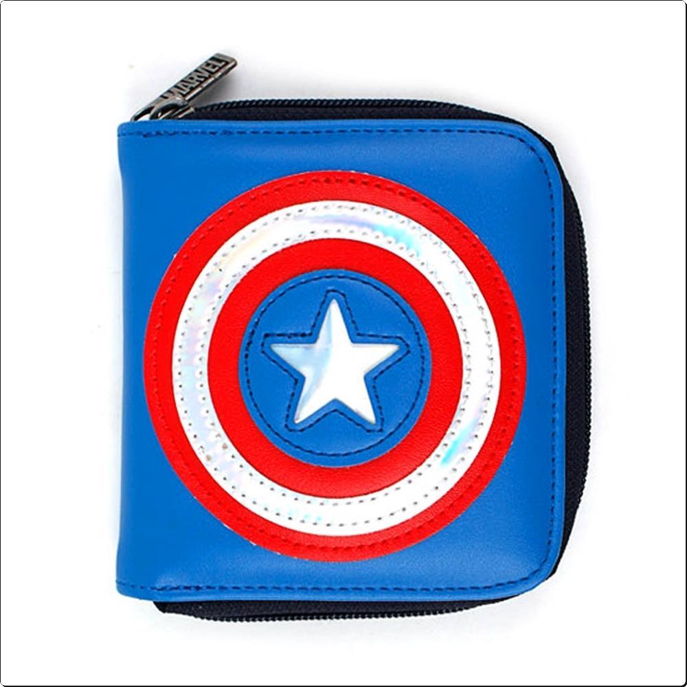 (마블) 캡틴아메리카 히어로 지갑 (737320) 캐릭터 캐릭터상품 생활잡화 잡화 유아용품