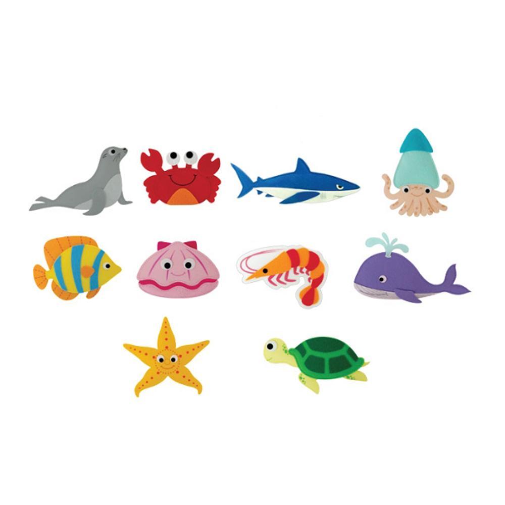 선물 어린이 유아 찍찍이 교육 교구 모형 바다 생물 2살장난감 3살장난감 4살장난감 아이놀이 어린이선물