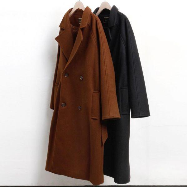 미시옷 3498L812 베이직 스트랩 코트 LS 빅사이즈 여성의류 빅사이즈 여성의류 미시옷 임부복 따뜻한모직롱코트