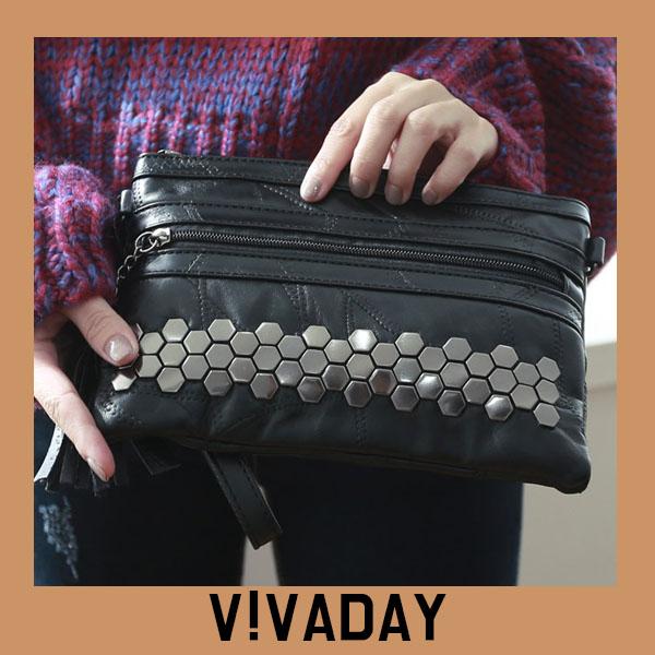 VAG371 양가죽테슬클러치 백팩 패션가방 숄더백 토트백 크로스백 데일리백팩 데일리크로스백 데일리숄더백 여성가방 여자가방 클러치