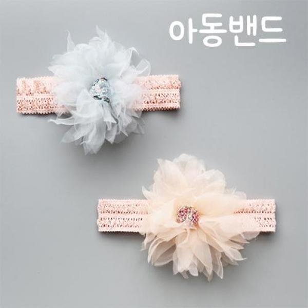 아기헤어밴드  여자 유아 터번 머리핀 A220255