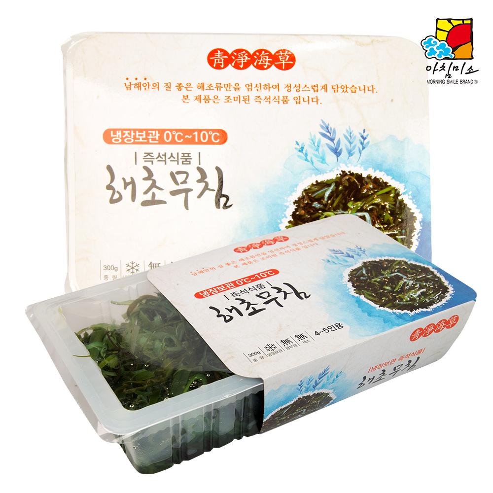해초샐러드 300g 해초샐러드 모듬해초 자른미역 미역가루 전통미역 완도미역 남해안미역