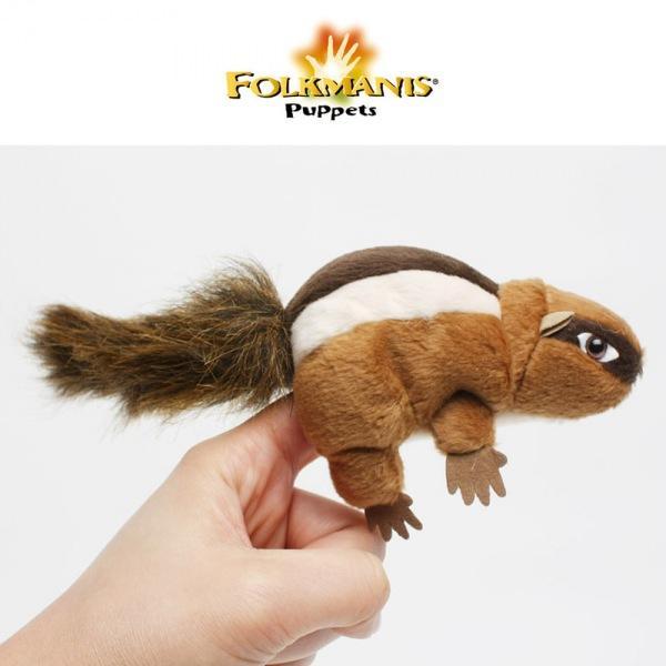 폴크마니스 고급 손가락 줄다람쥐 (F2637) 손가락인형 인형 동물인형 장난감 완구