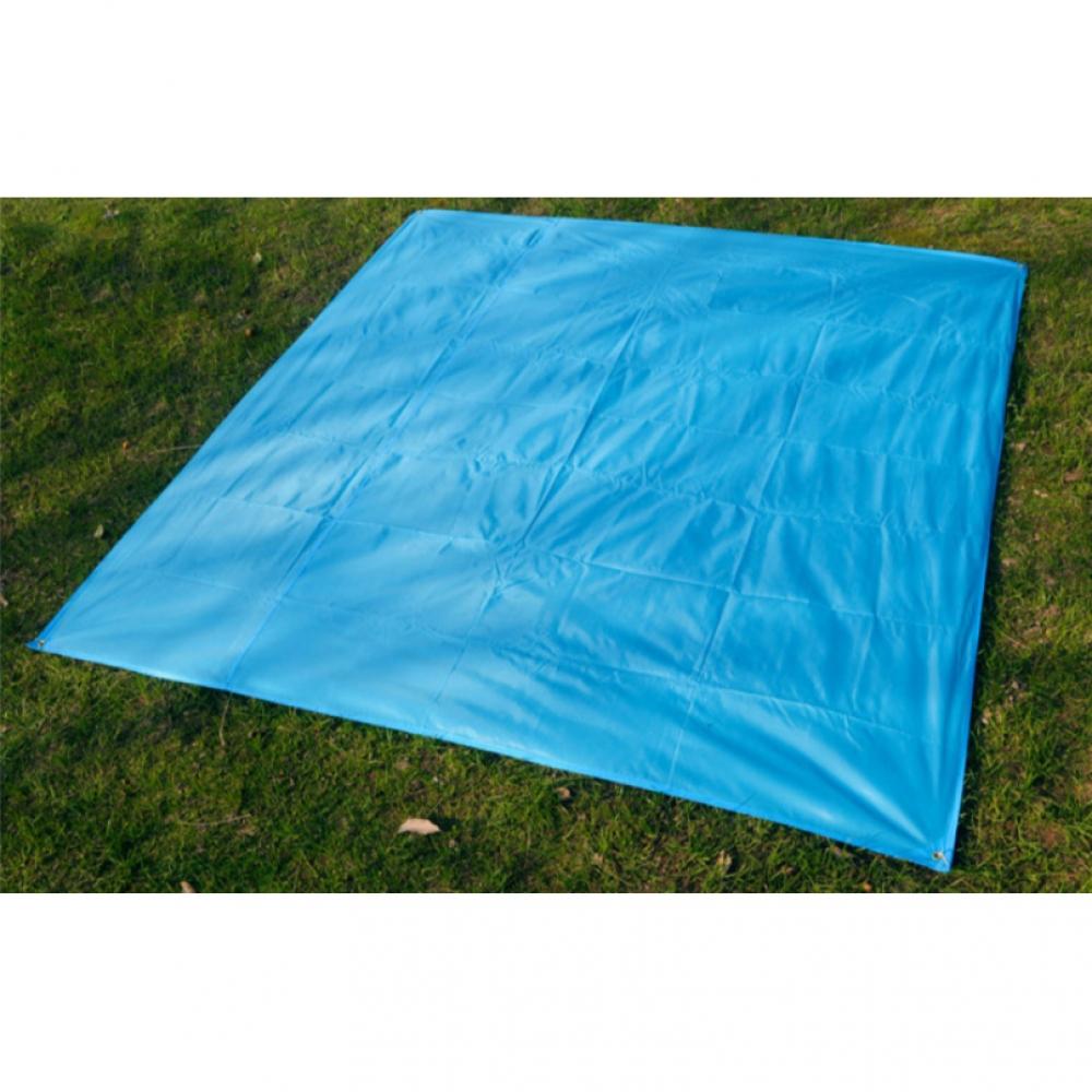 방수 캠핑매트 블루 200x210cm 휴대용돗자리 돗자리 캠핑돗자리 돗자리 피크닉매트 캠핑매트 휴대용돗자리