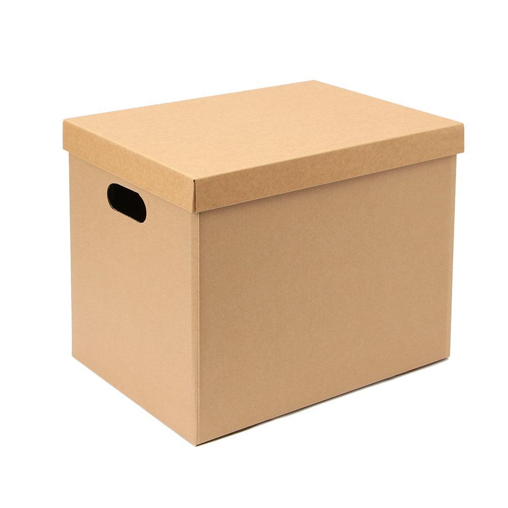 DIY 39x29cm 크라프트 종이정리함 종이박스 정리박스 크라프트수납함 수납박스 크라프트박스 수납종이박스 종이정리함