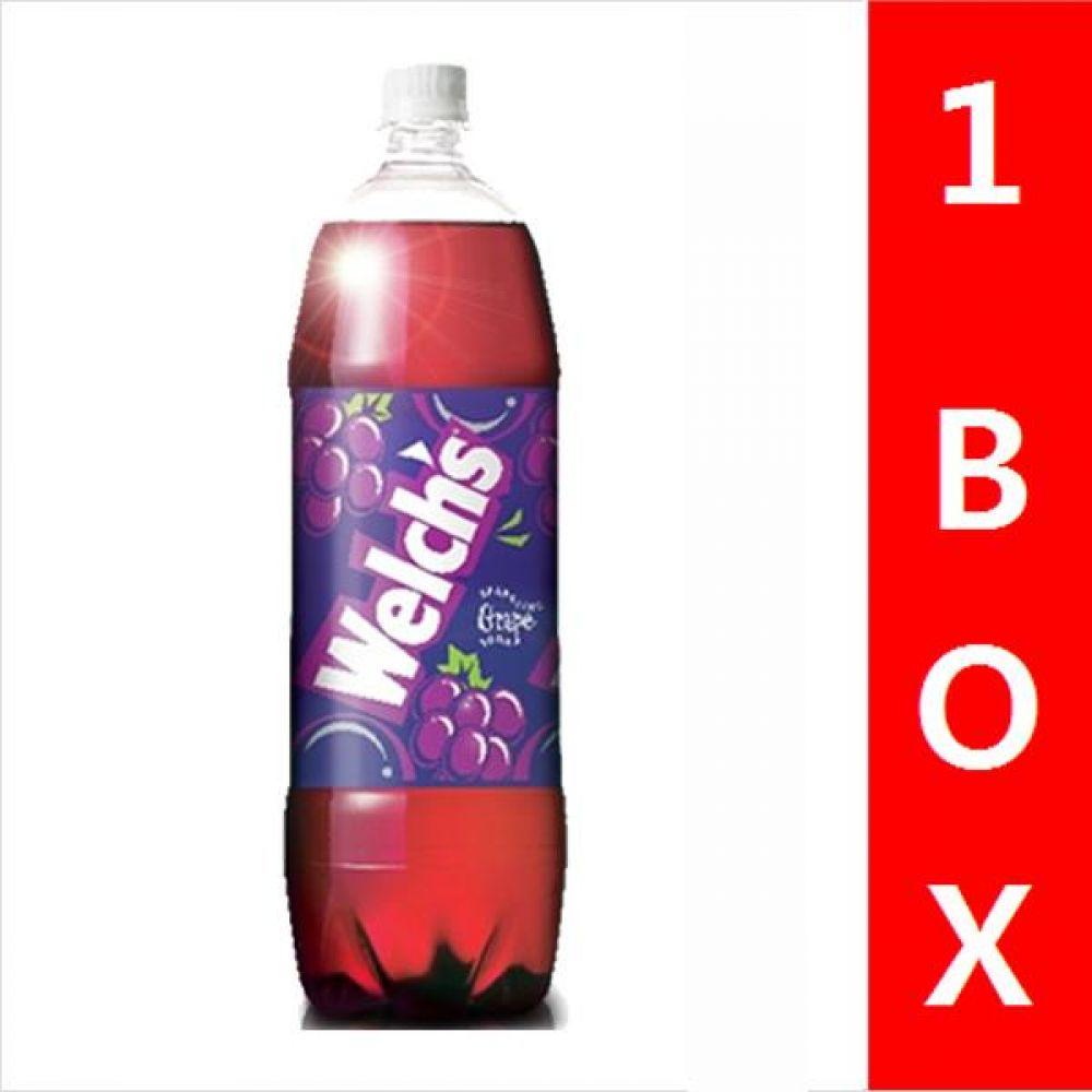 농심)웰치스 포도 1.5L 1박스(12병) 음료 여름 탄산 과일 비타민 대량 세일 판매 웰치스 포도음료