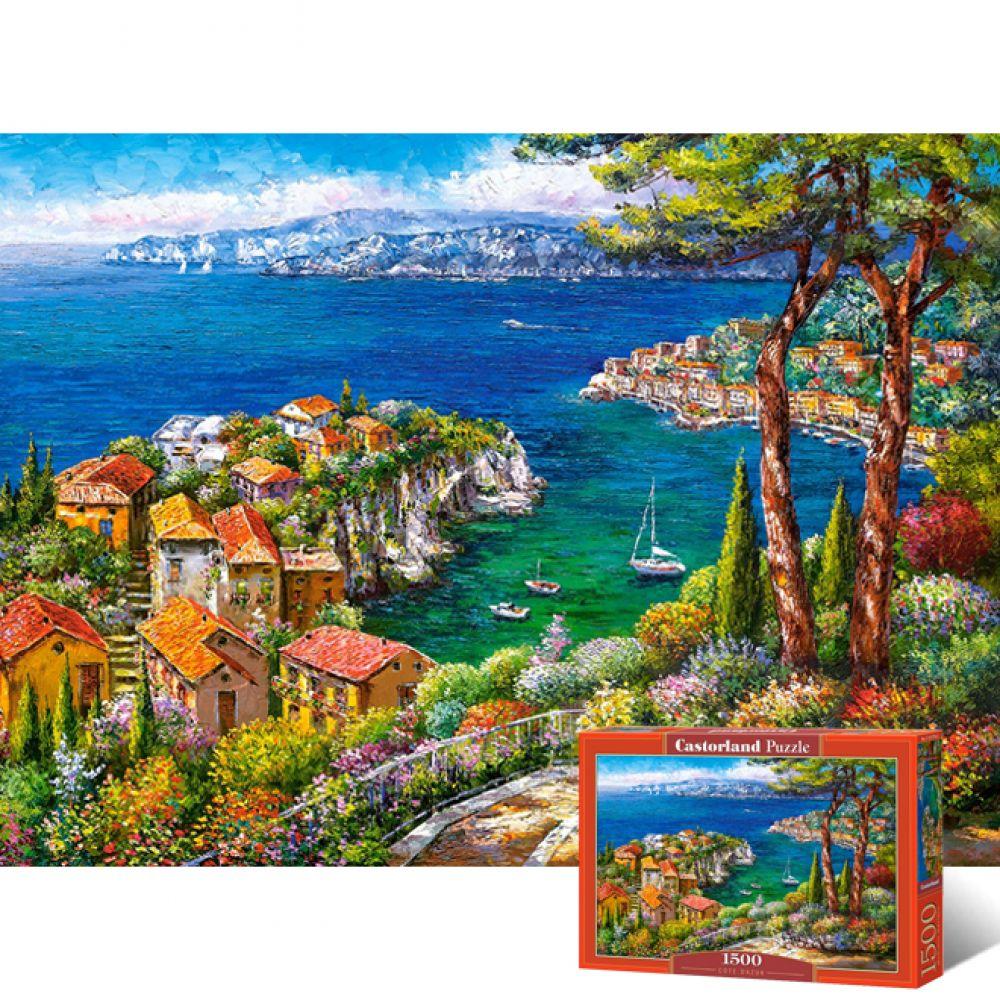 1500피스 직소퍼즐 - 코트다쥐르 (LD151776) 직소퍼즐 퍼즐 퍼즐직소 일러스트퍼즐 취미퍼즐