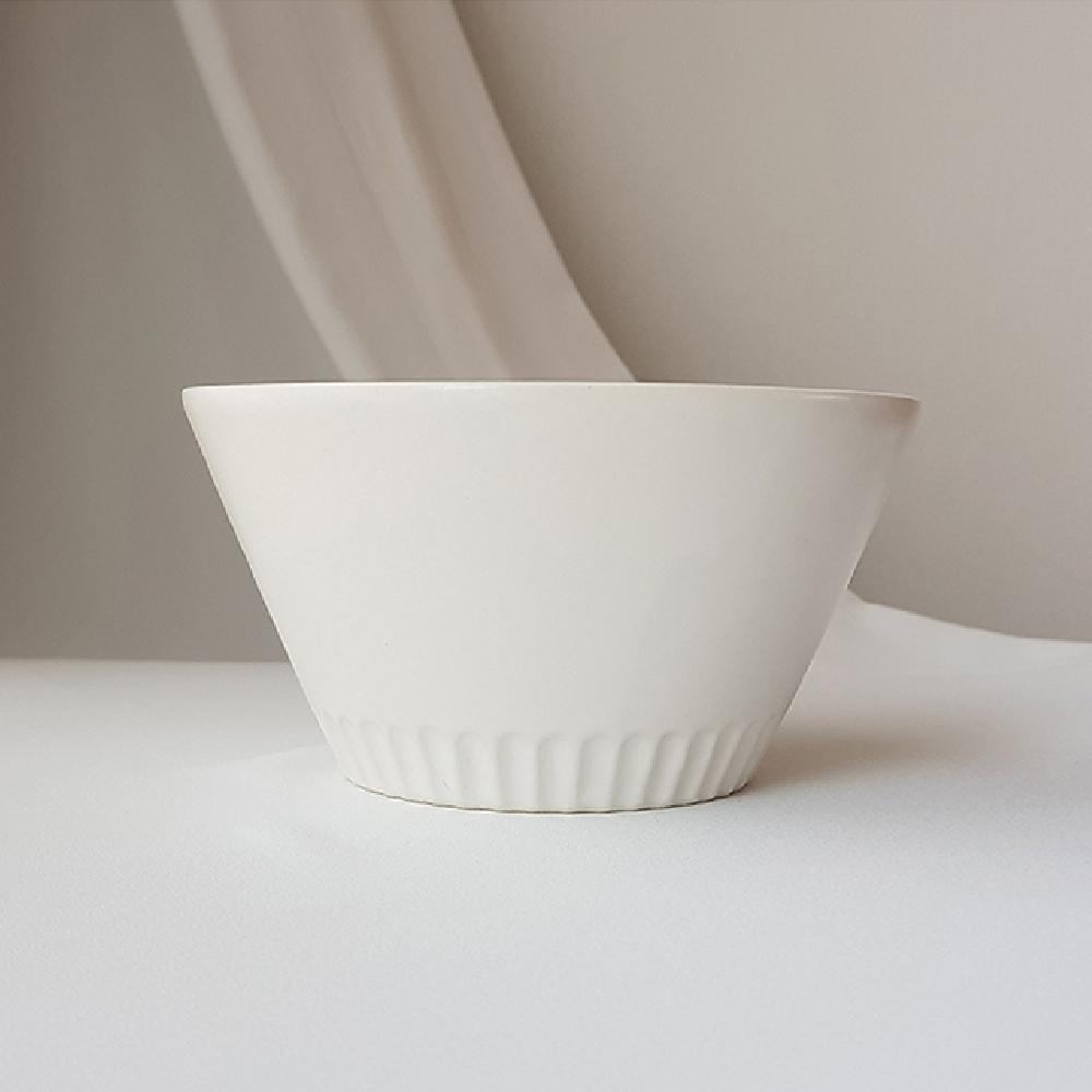 그린코리아 아이토 사쿠잔 도자기 시리얼볼 화이트 도자기그릇 주방접시 부엌볼 주방식기 오목한접시 도자기그릇 주방접시 부엌볼 주방식기 오목한접시