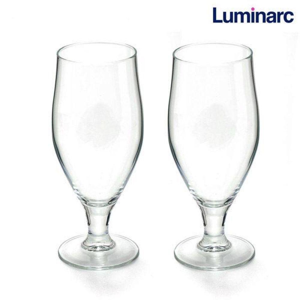 루미낙 에일맥주잔 2p (N7897) 유리컵 맥주잔 물컵 도자기컵 맥주컵