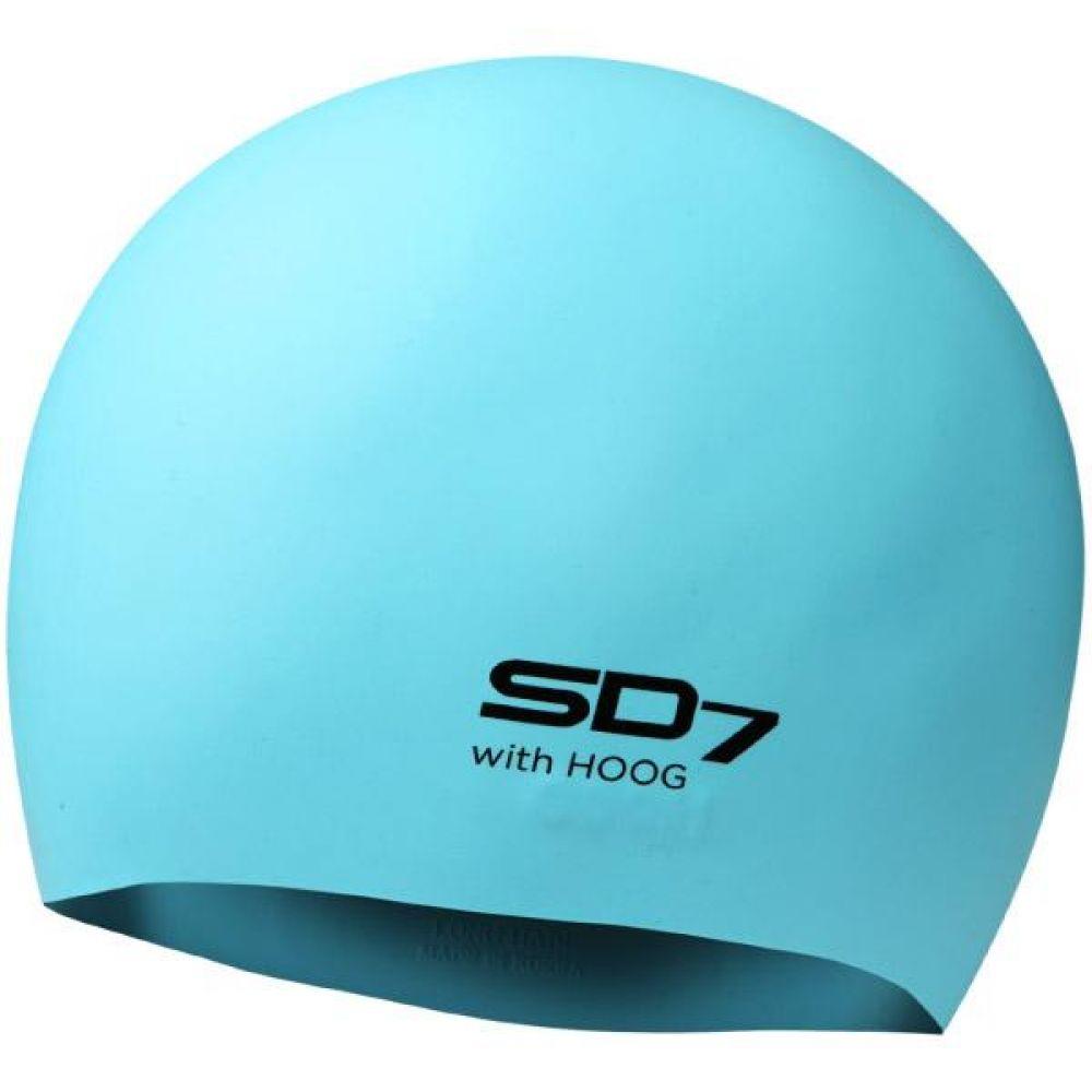 SGL-CAL006 Sky Blue SD7 롱헤어 실리콘 수모 실리콘수모 수영모자 수영용품 수영모 수영수모
