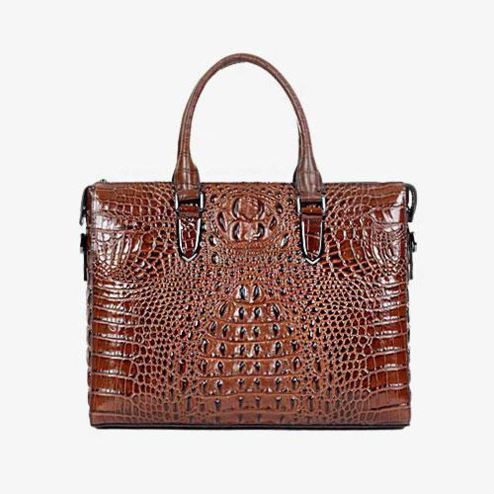 UL_IUU025 악어무늬 비즈니스 서류가방 데일리가방 비즈니스크로스백 디자인크로스백 예쁜가방 심플한가방