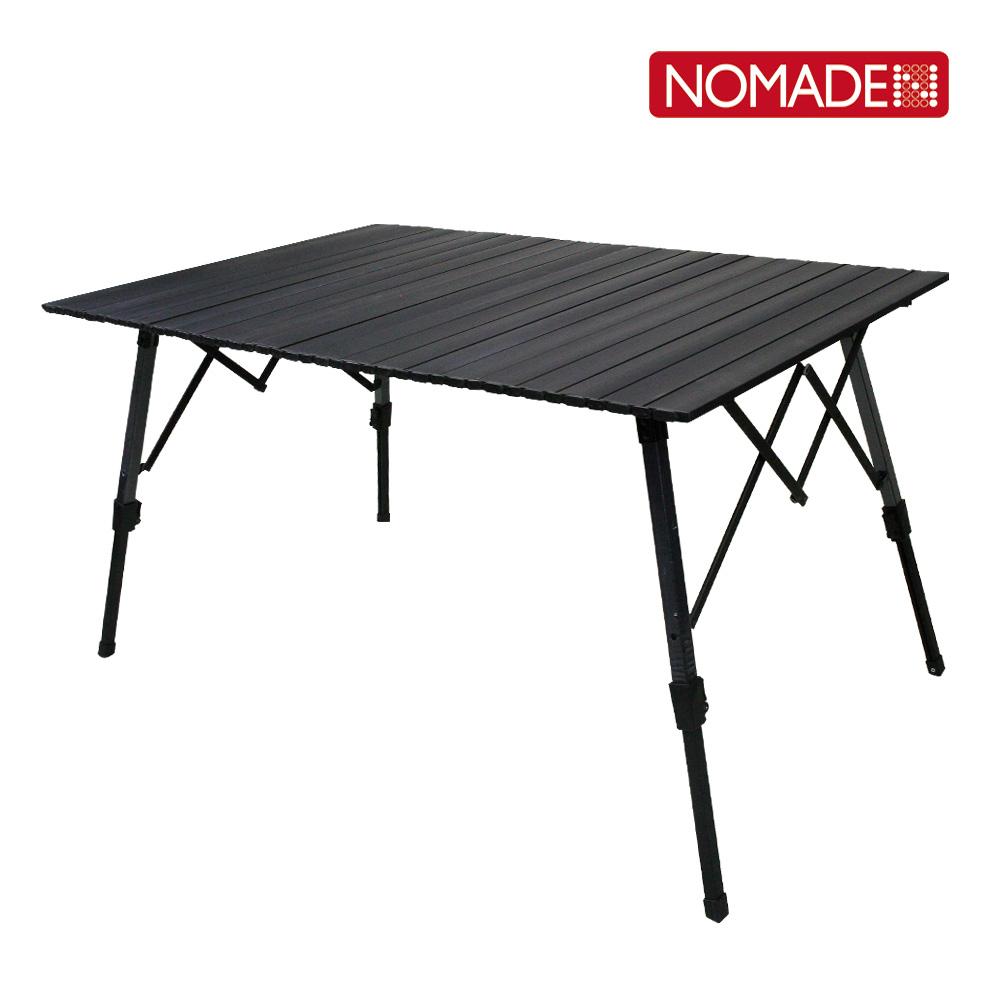 캠핑테이블 와이드 롤테이블-블랙 캠핑테이블 테이블 캠핑용품 접이식테이블 롤테이블