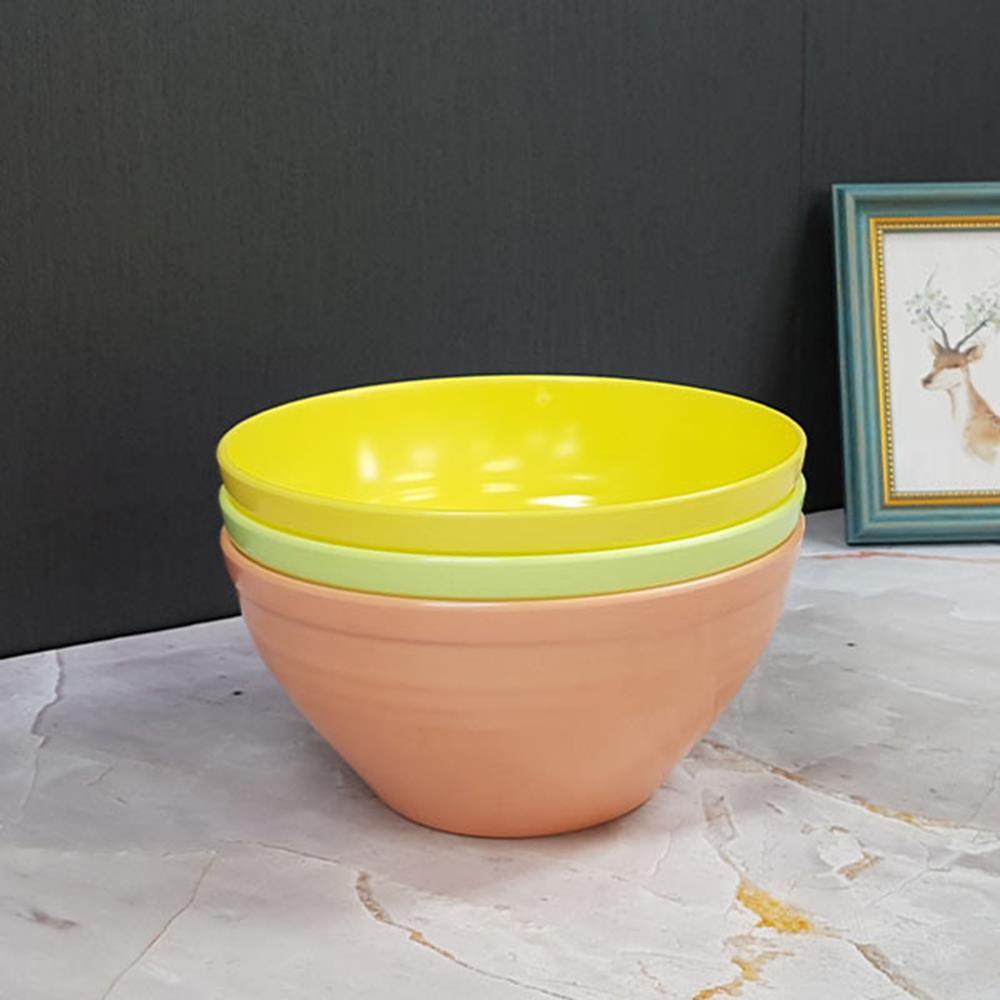 컬러믹싱볼-중 색상랜덤 야채볼 세척볼 주방용품 그릇볼 조리도구 믹싱볼 주방용품 주방볼
