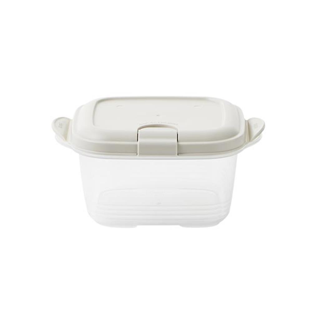 정사각 이지톡 2p 420ml 보관용품 보관용기 반찬용기 주방용품 반찬통 보관용품 플라스틱통 밀폐양념통