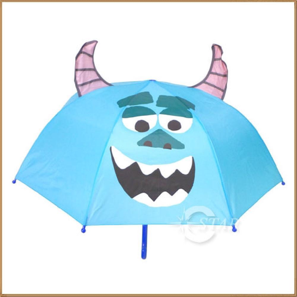 몬스터주식회사 설리 47 입체 우산(하늘색) 캐릭터 캐릭터상품 생활잡화 캐릭터제품 잡화
