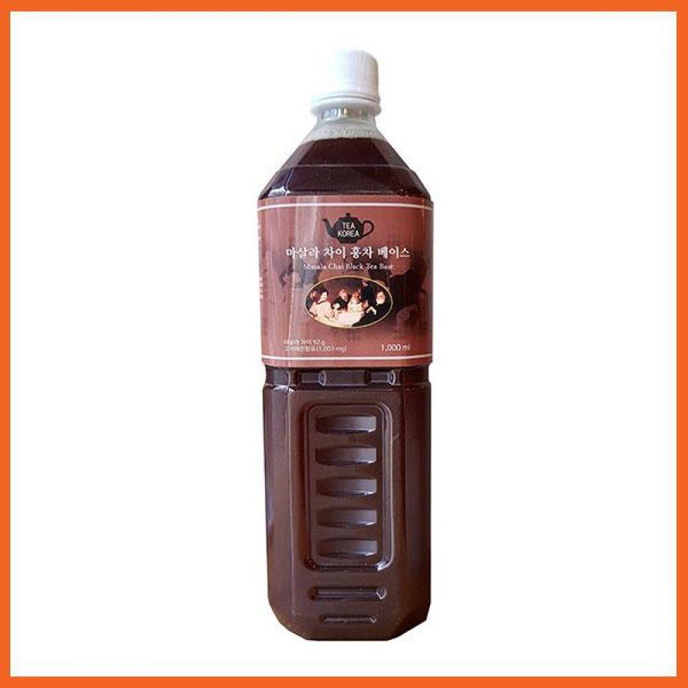 마살라차이 홍차베이스 1000ml 액상차 식품 농수축산물 차 음료 음료기타