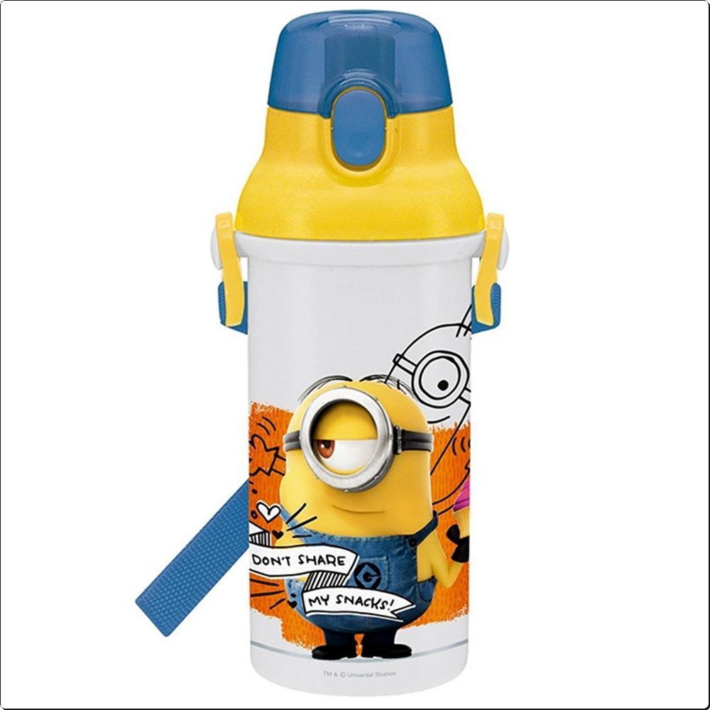미니언즈17 원터치 물통 480ml (일)(366093) 캐릭터 캐릭터상품 생활잡화 잡화 유아용품
