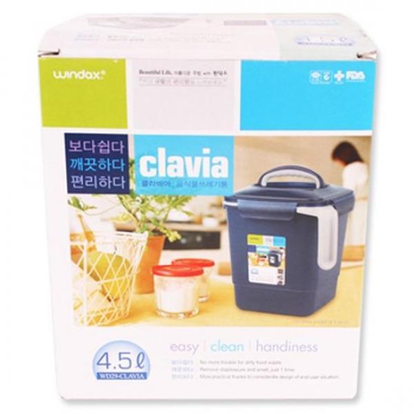 MWSHOP 클라비아 음식물수거통4.5L 엠더블유샵