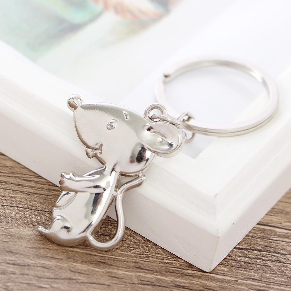 쥐열쇠고리 옆태 실버 판촉열쇠고리 키홀더 키홀더 자동차키홀더 자동차열쇠고리 선물용열쇠고리 차량열쇠고리