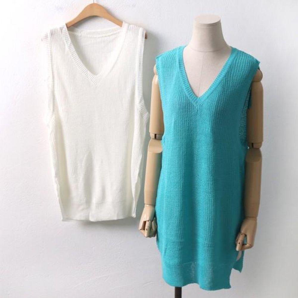 빅사이즈 001 슬럽 하찌 브이 조끼 DRMD8095 빅사이즈 여성의류 미시옷 임부복 001슬럽하찌브이조끼DRMD8095