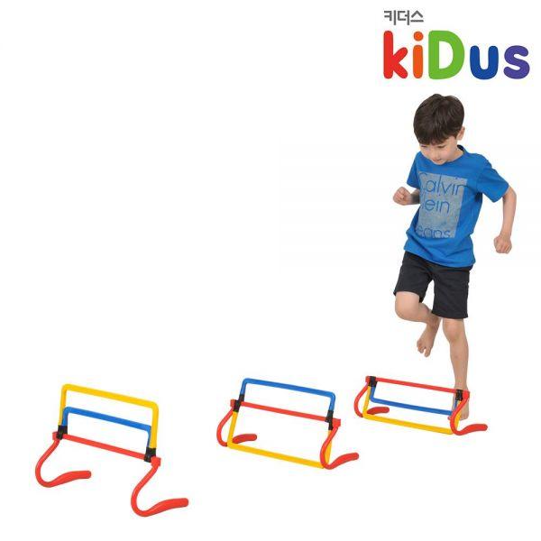 [키더스] 3단 허들 유아체육 달리기 육상 릴레이 점프