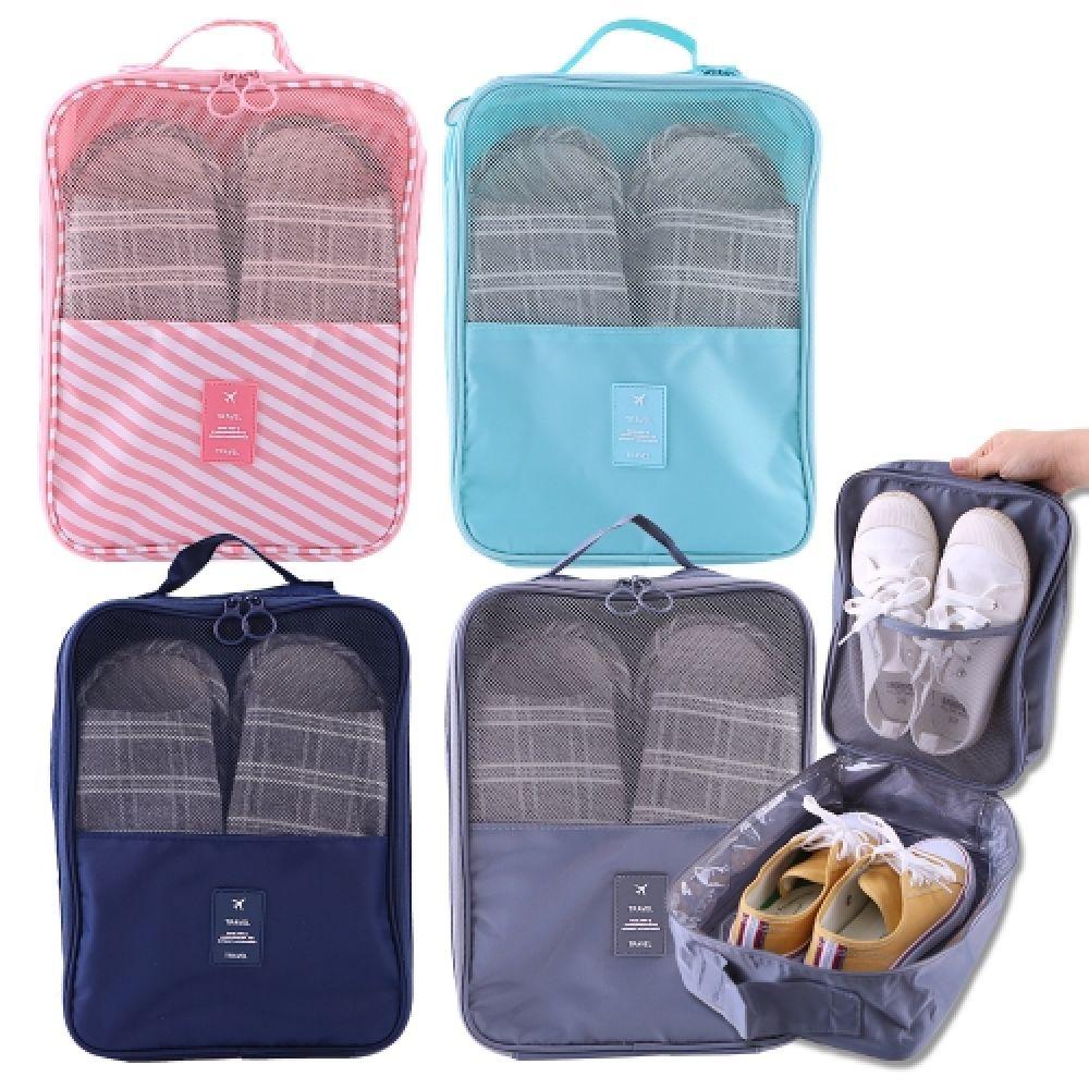 여행용 신발파우치 여행가방 정리 보조가방 신발가방 파우치 여행용파우치 케이스 가방 여행용가방 캐리어파우치 여행용주머니 신발주머니 신발가방