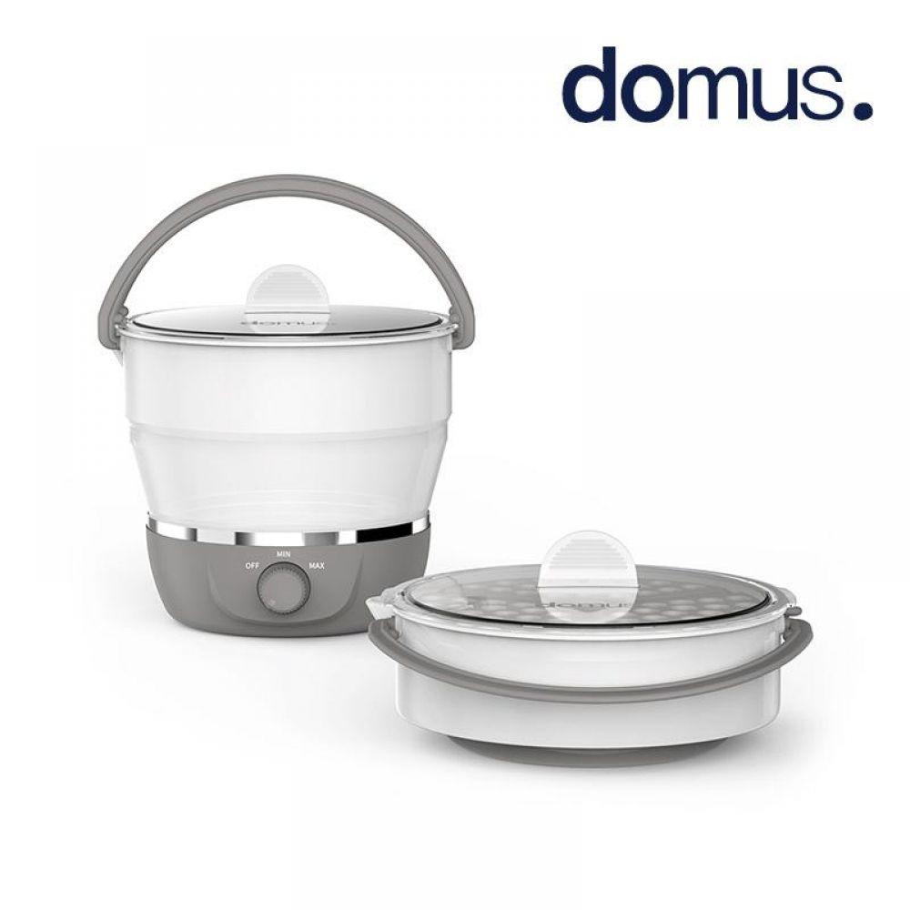 도무스 실리콘 접이식 마이포트 전기냄비 멀티쿠커 전기쿠커 멀티쿡 멀티냄비