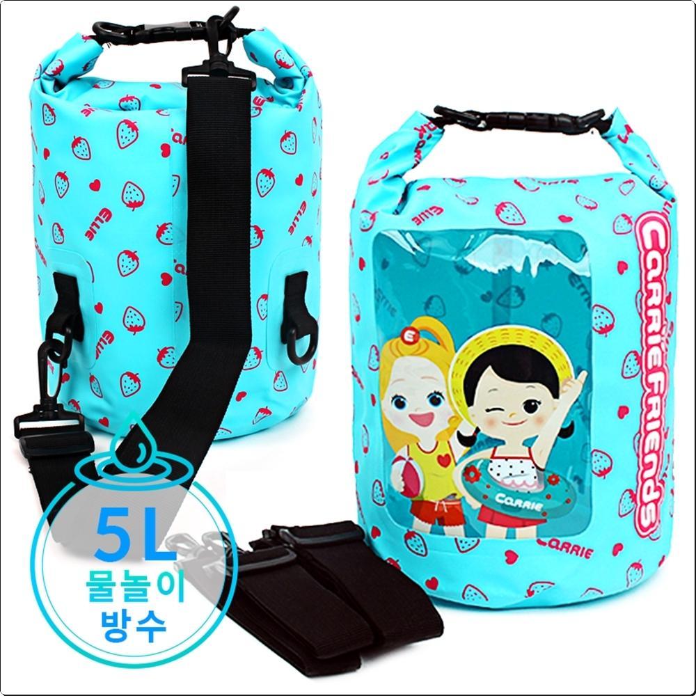 캐리 프렌즈 드라이백 5L (어깨끈2개)(748210) 캐릭터 캐릭터상품 생활잡화 잡화 유아용품