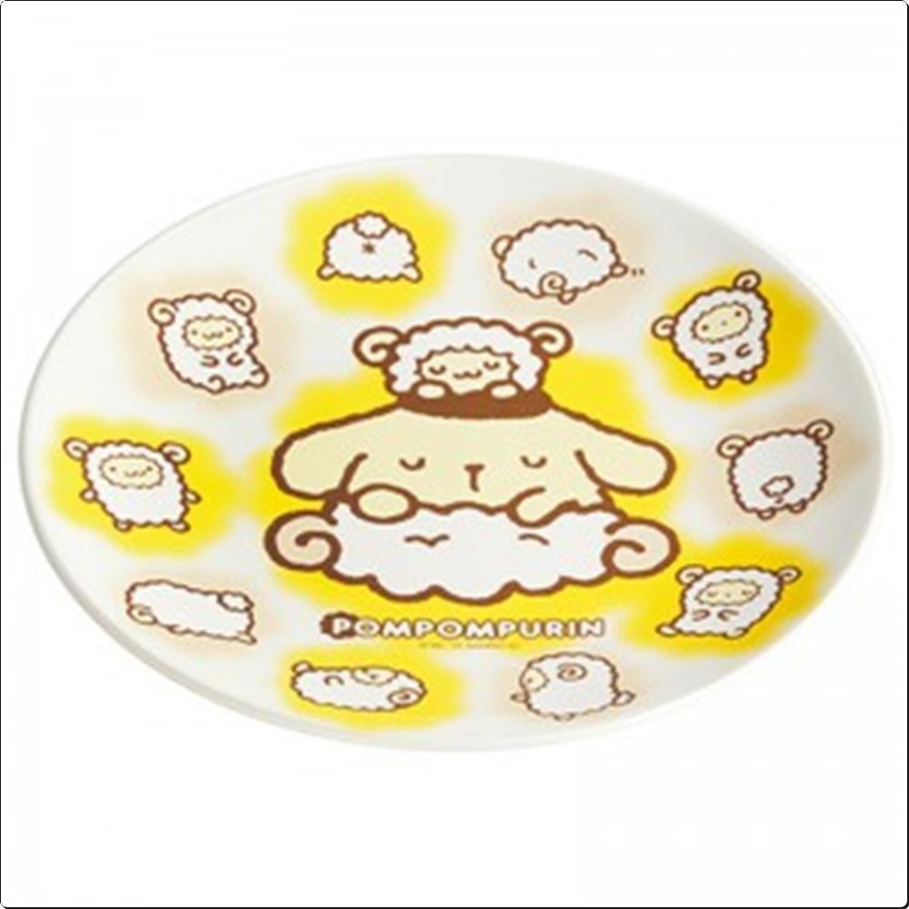 폼폼푸린 접시 20cm (일)(310676) 캐릭터 캐릭터상품 생활잡화 잡화 유아용품
