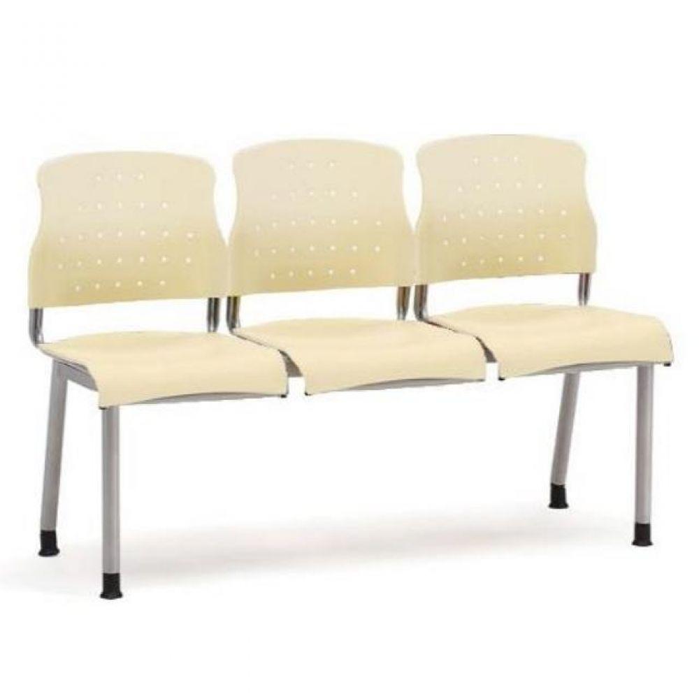 3인용 연결의자 레인보우 팔무(올사출) 634 로비의자 휴게실의자 대기실의자 장의자 3인용의자 2인용의자 약국의자 대합실의자