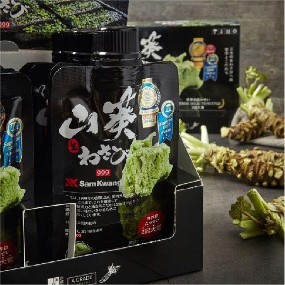 삼광 999 생와사비 고추냉이 80g 일식재료 초밥와사비 생와사비 고추냉이 삼광와사비