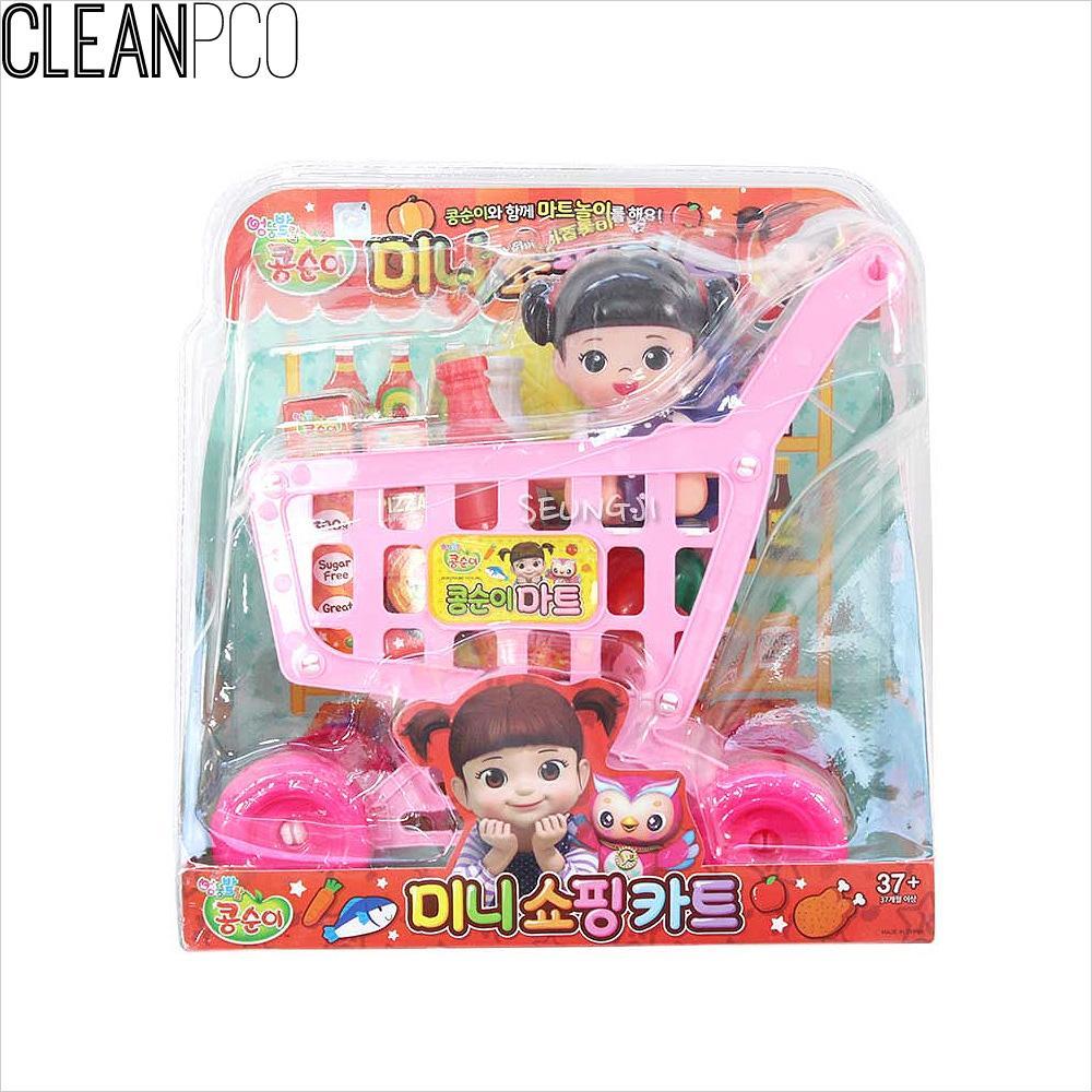 f06 17000콩순이미니쇼핑카트 P35646 계산놀이 어린이선물 어린이쇼핑카트 소꿉놀이 소꿉놀이소품