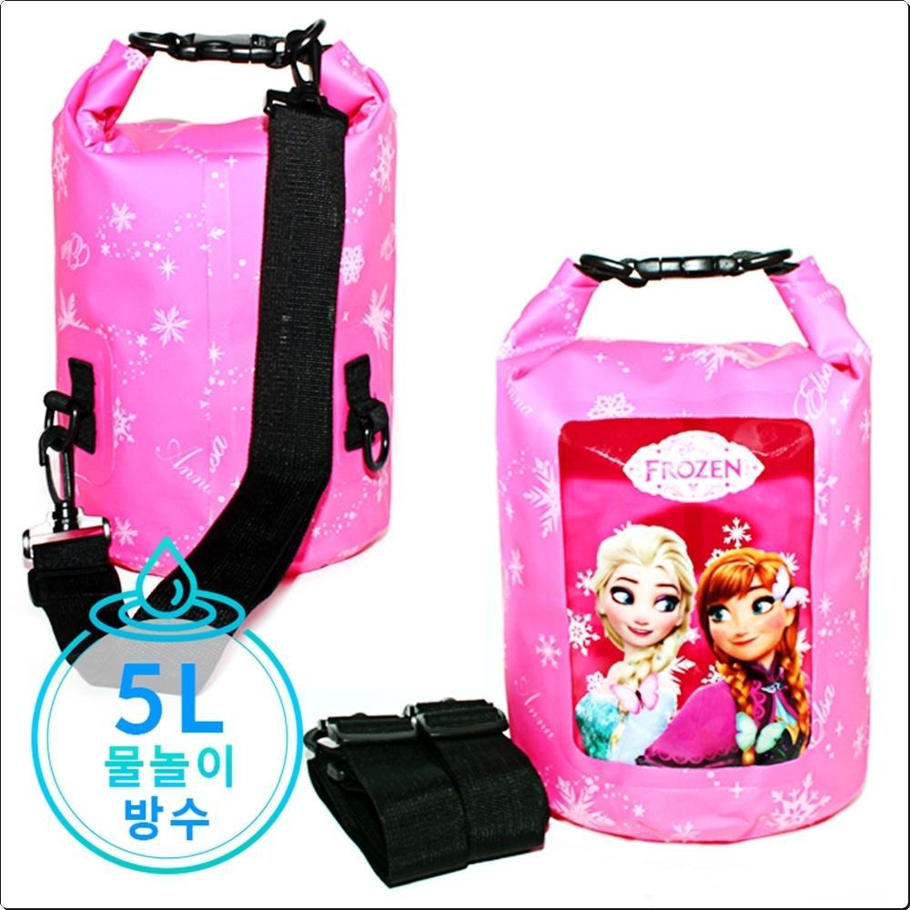 겨울왕국 드라이백팩 5L (어깨끈2개)(748142) 캐릭터 캐릭터상품 생활잡화 잡화 유아용품
