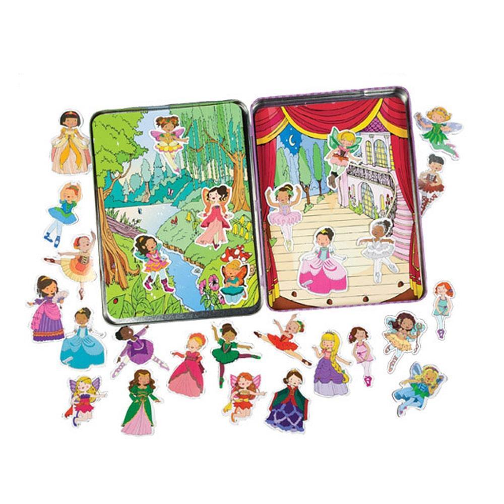 선물 3살 자석 블럭 장난감 발레프린세스 마그네틱 퍼즐 블록 블럭 장난감 유아블럭
