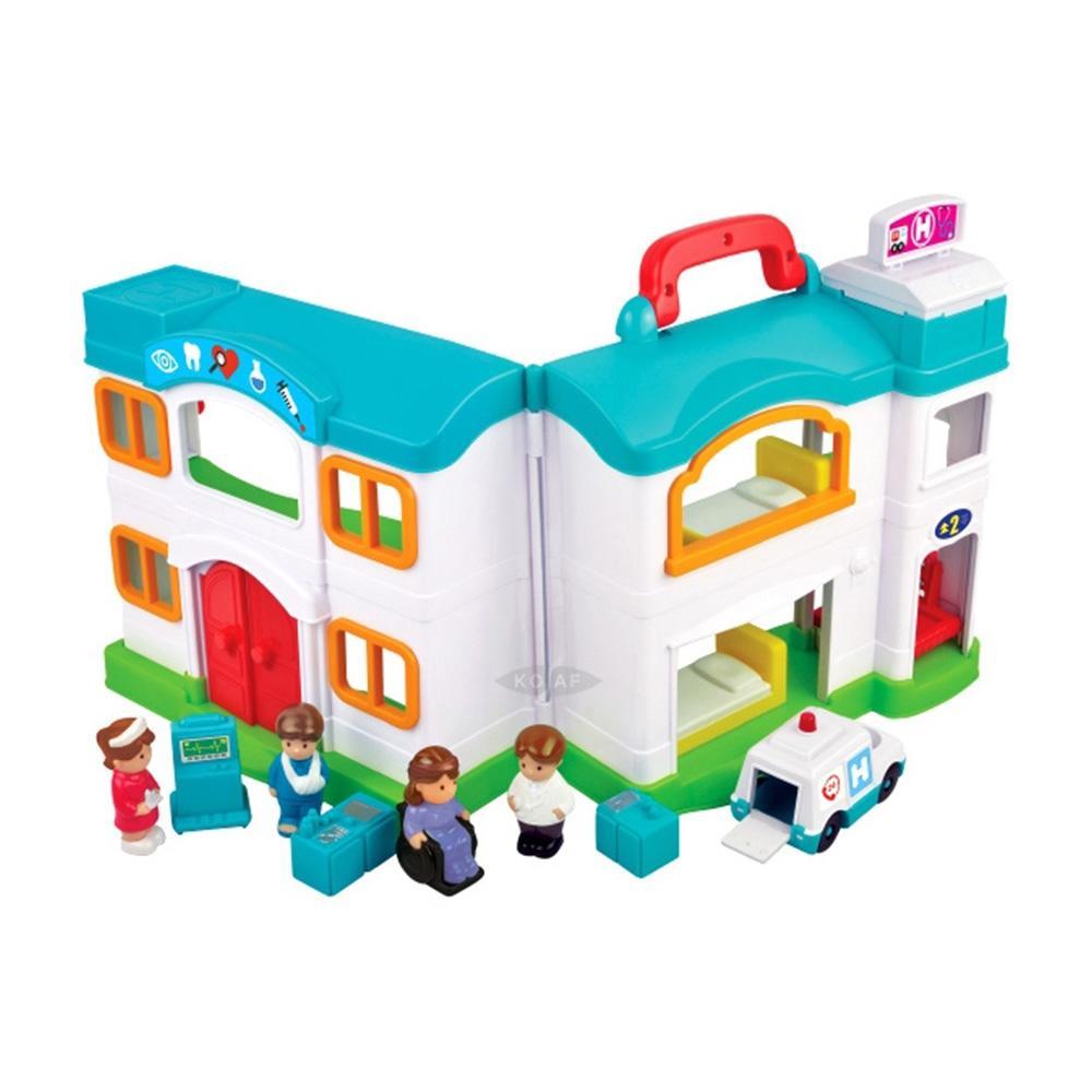 생일 아이 장난감 응급의료센터 병원 놀이 세트 조카 완구 어린이집 유아원 초등학교 장난감