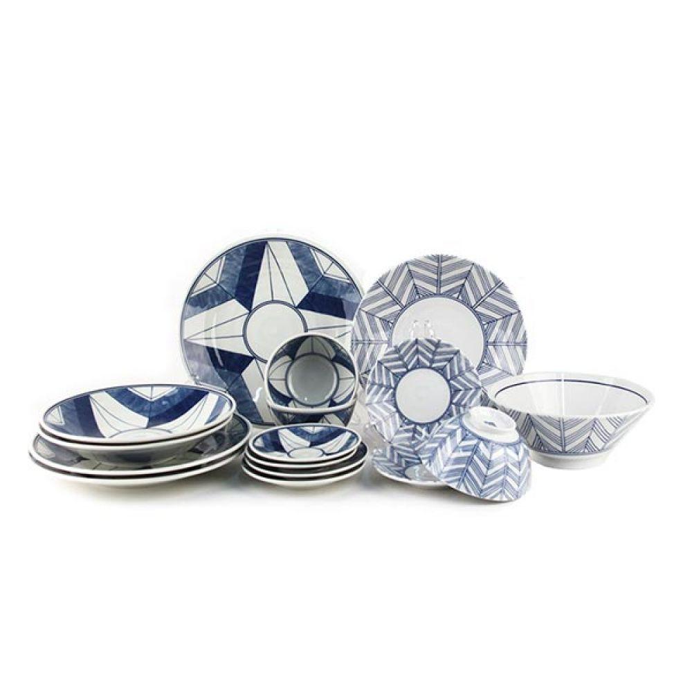 에도몬 면기 3P 주방용품 예쁜그릇 그릇 밥그릇 예쁜그릇 주방용품 그릇 면기 밥그릇