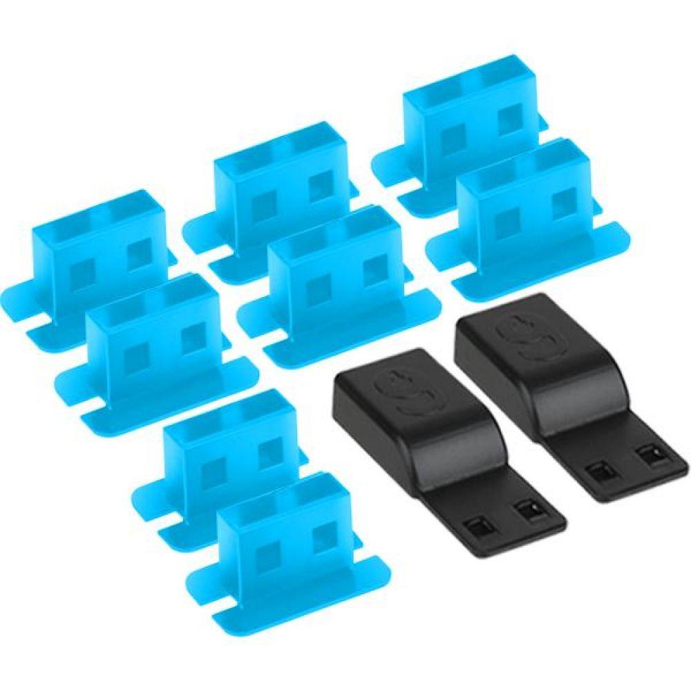 보안 USB 포트 잠금 Lock 차단 시큐리티 블루 컴퓨터용품 PC용품 컴퓨터악세사리 컴퓨터주변용품 네트워크용품 보안 시큐리티 USB 잠금