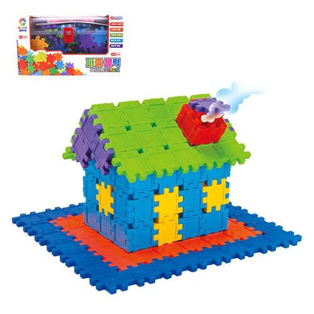 바니 퍼즐블럭(100pcs)(78427) 장난감 완구 토이 남아 여아 유아 선물 어린이집 유치원