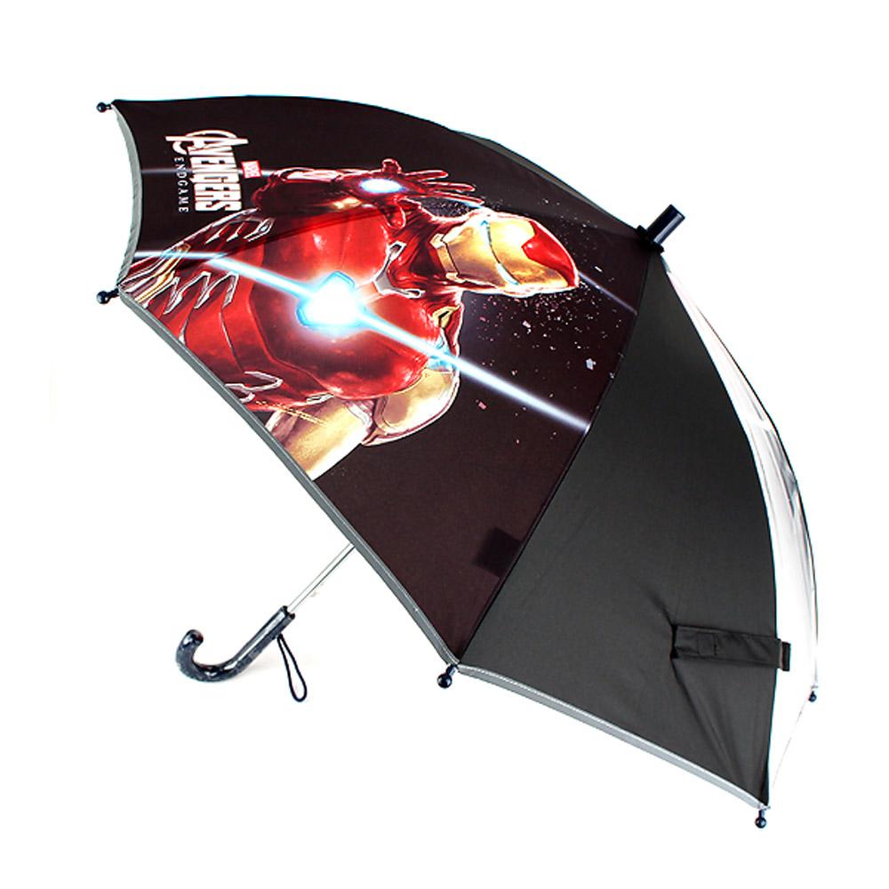 아이언맨 빔 우산 53 투명 블랙 아동우산 MV0459 아이언맨우산 아이언맨장우산 장우산 유아장우산 마블우산 아동우산 어린이우산 유아동우산 초등학생우산 작은우산