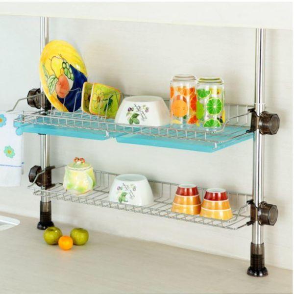 루비코아 씽크선반 600(2단) 설거지건조대 설거지선반 식기건조대 그릇정리대 싱크대선반